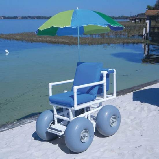 Aqua-Creek beach access wheelchair