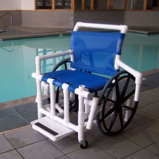 Aqua-Creek pool access wheelchair