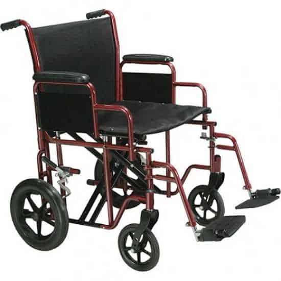 Drive BTR20-B heavy-duty transport wheelchair