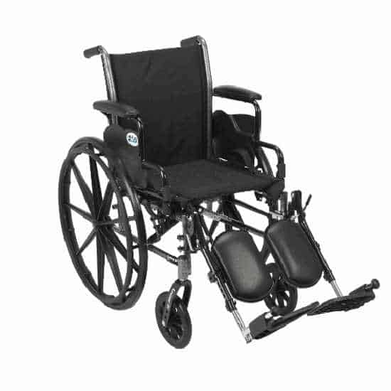 Drive Cruiser III heavy-duty wheelchair