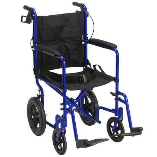 Drive Expedition lightweight transport wheelchair