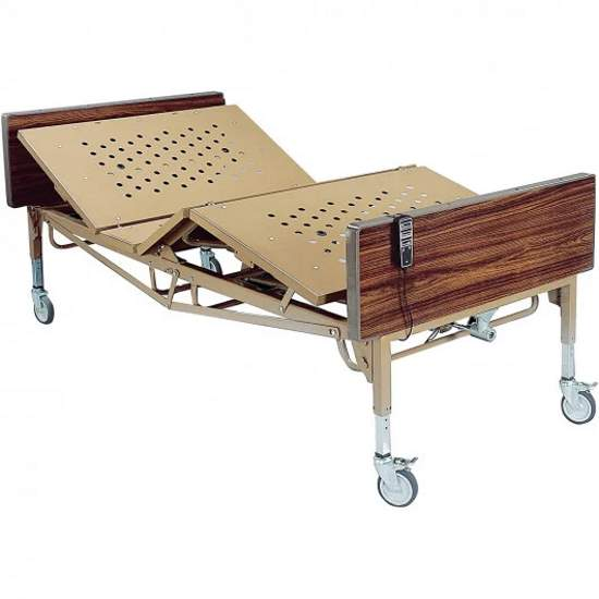 Drive Medical 15300 Bariatric Fully-Electric Hospital Bed