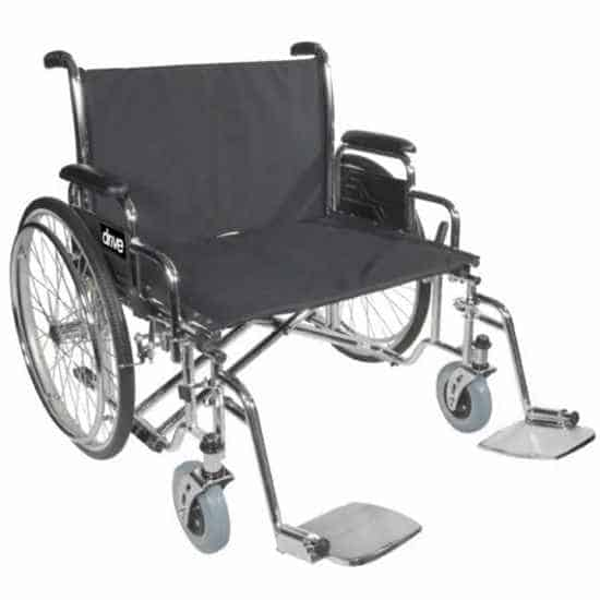Drive Sentra EC heavy duty extra eide wheelchair