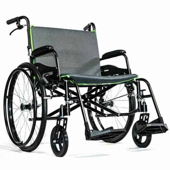 Feather Chair heavy-duty 15 lbs featherweight wheelchair