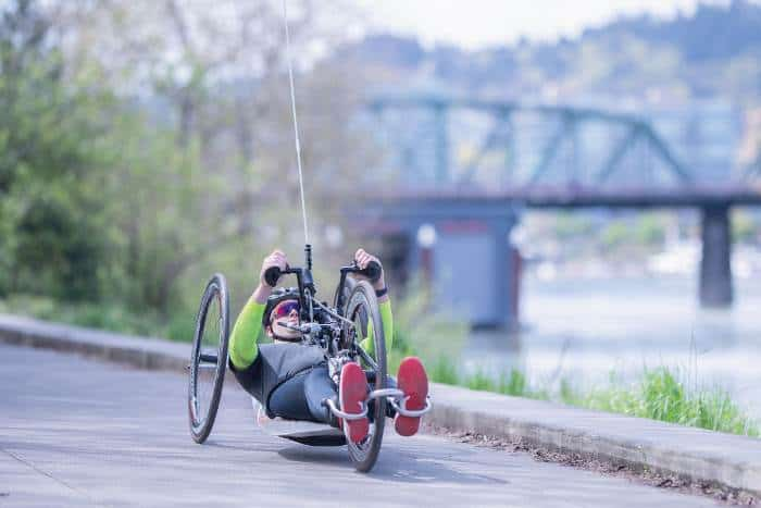 Handcycles for limited mobility users