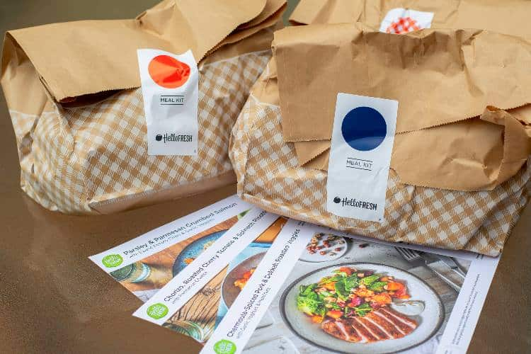 Hello Fresh meal kits