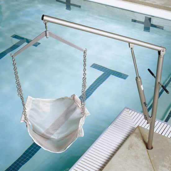 Hoyer Classic swimming pool lift