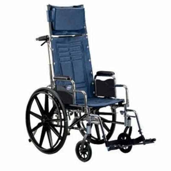 Invacare Tracer SX5 recliner manual wheelchair