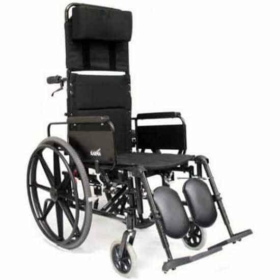 Karman KM-5000 lightweight reclining wheelchair