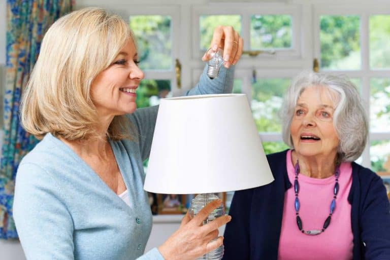 Lighting for seniors