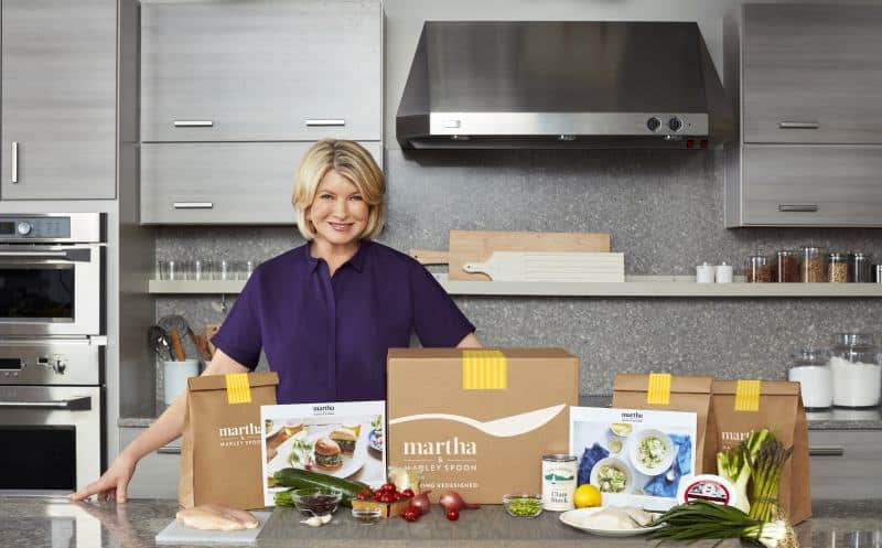 Martha & Marley Spoon meal kit