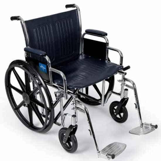 Medline Excel heavy-duty wheelchair