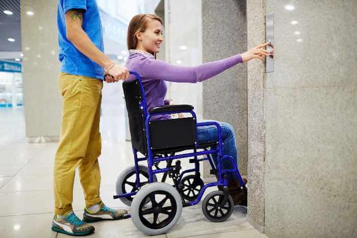 Portable transport wheelchairs