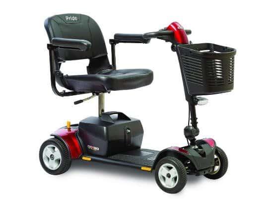 Pride Mobility Go-Go Elite Plus Mobility Scooter