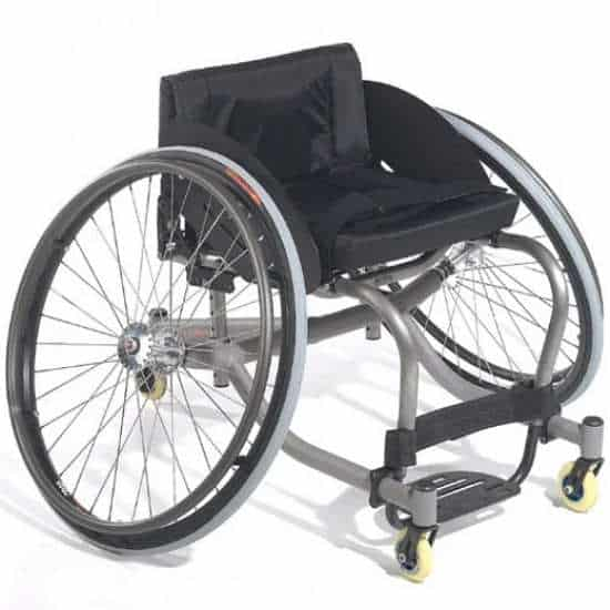 Quickie Titanium Match Point Tennis Wheelchair