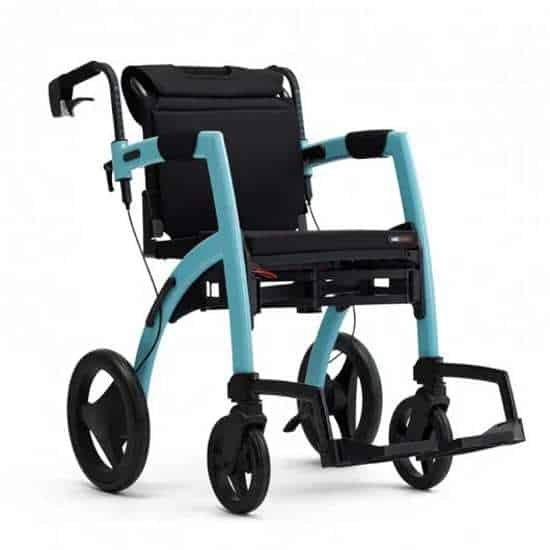 Rollz Motion2 rollator & transport chair in one