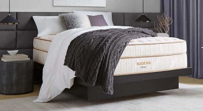 Saatva Classic hybrid mattress