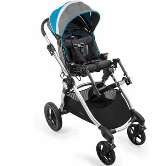 Sunrise-Medical Zippie Voyage adaptive stroller