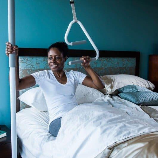 Superpole supertrapeze healthcraft bed