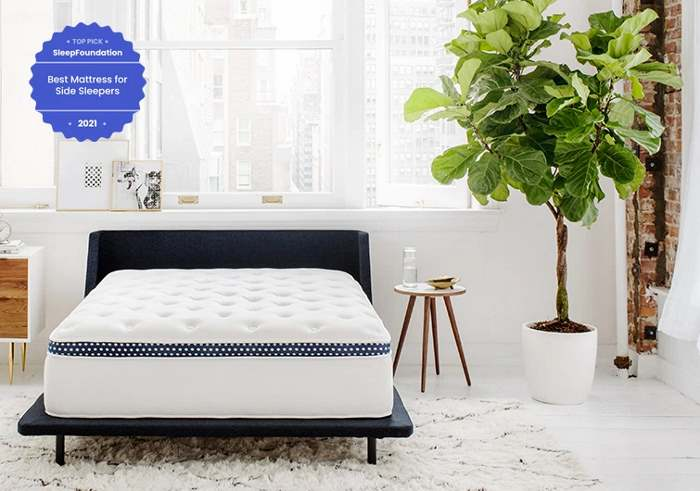 The WinkBed mattress designed for side sleepers