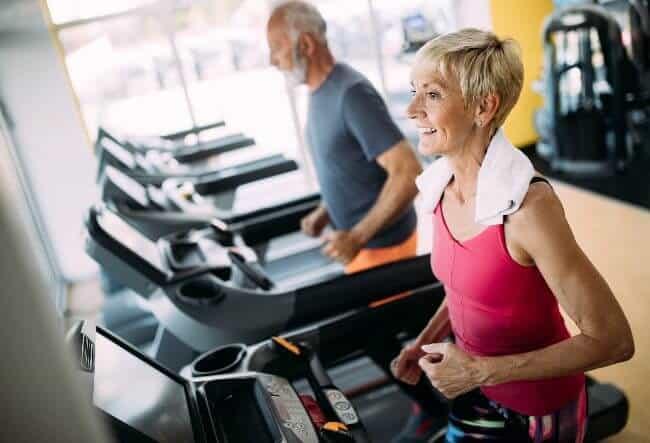 Treadmills for the elderly