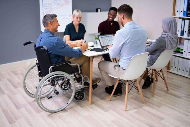 Job resources for disabled users