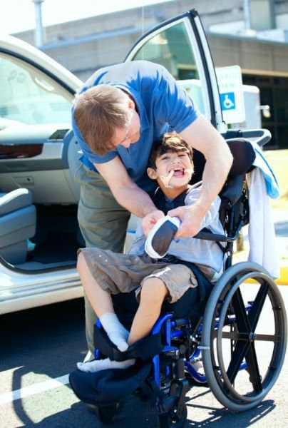 Wheelchair to Car Transfer