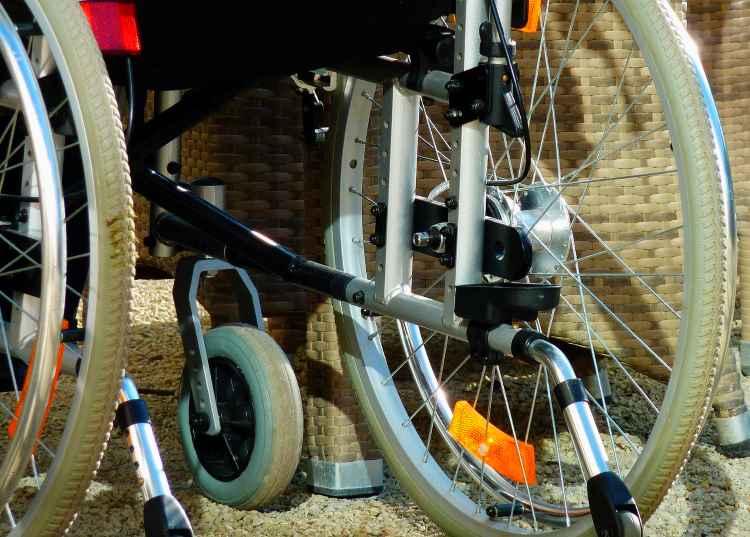Wheelchair Tire Alignment