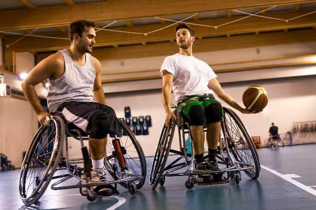 Wheelchairs for Basketball
