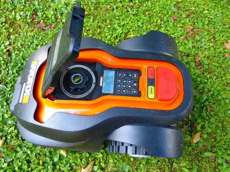 Worx robotic lawnmower