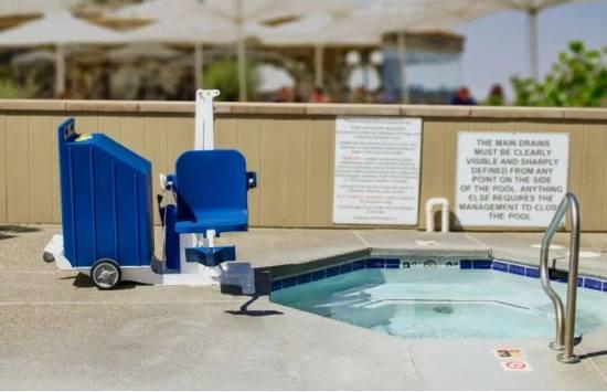 Aqua Creek portable pro 2 pool and spa lift