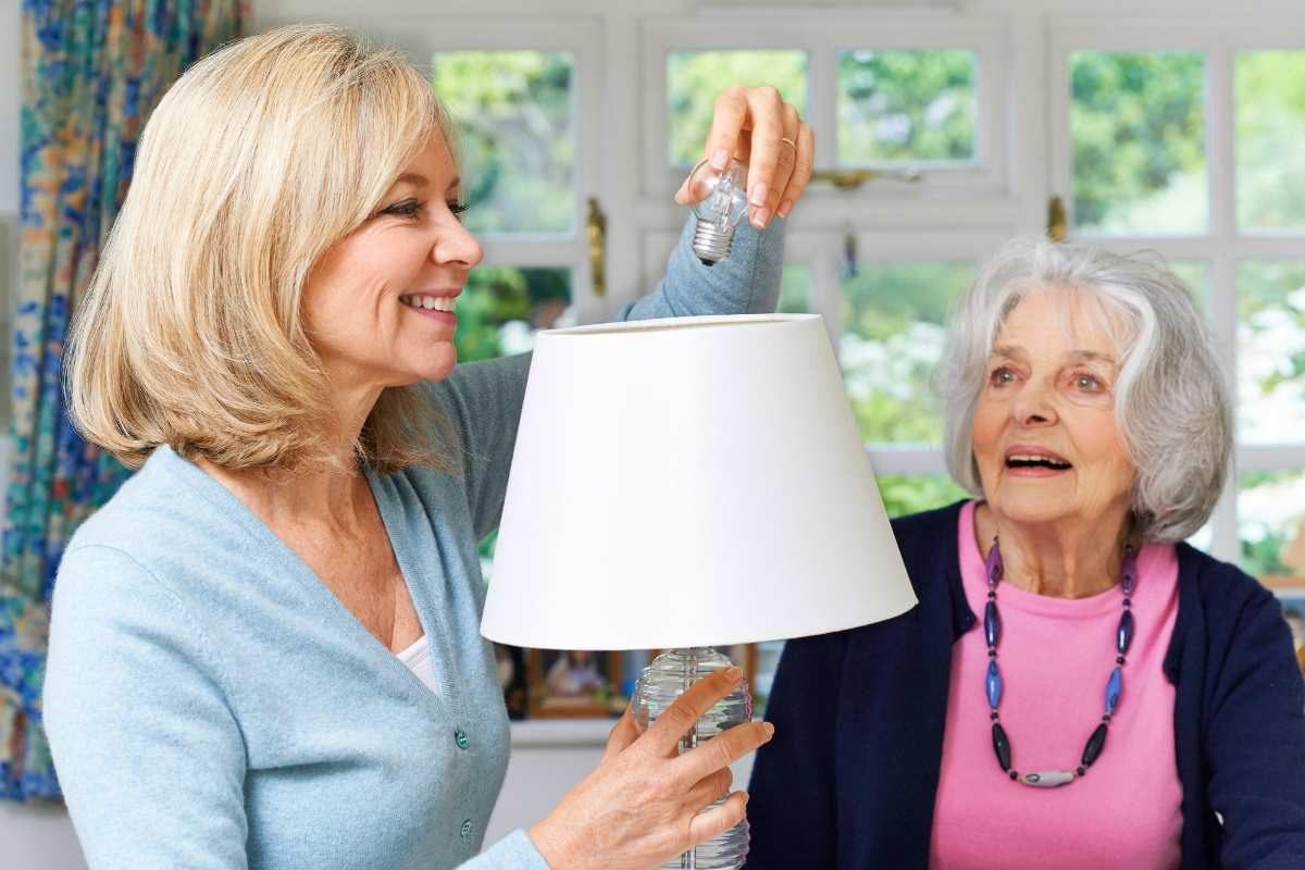 Lighting for seniors