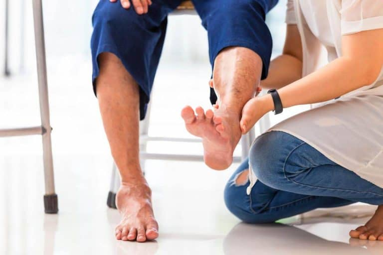 Foot care tips and advice for seniors