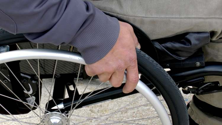 Wheelchair pressure sores